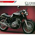 Honda GB500 Tourist Trophy (1989-91)