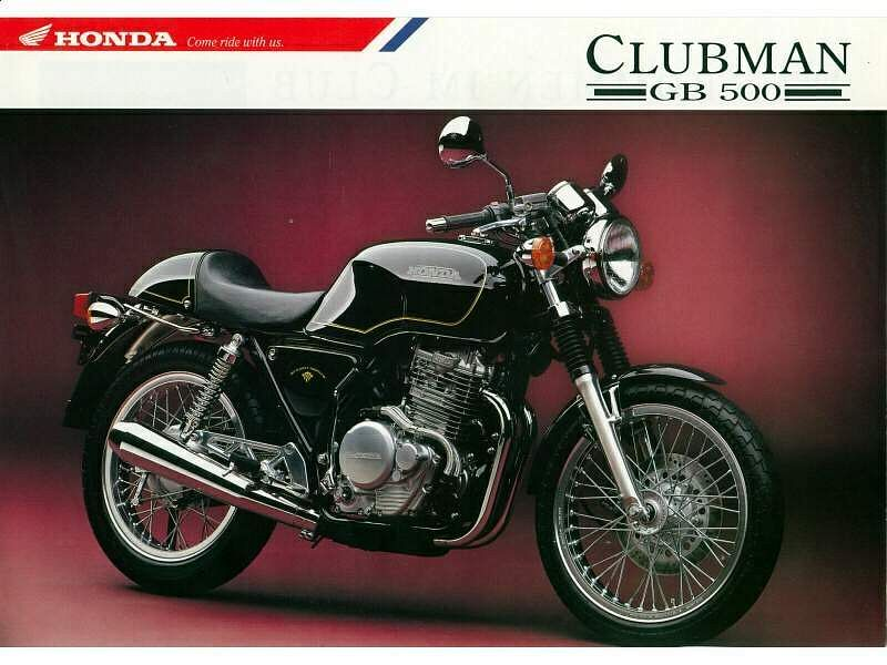 Honda GB500 Tourist Trophy (1989-91)