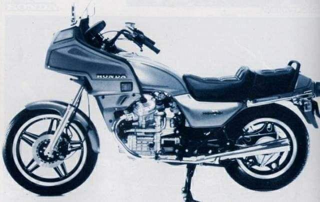 Honda GL500 Silver Wing (1981-82) - MotorcycleSpecifications com