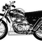 Honda SL175 (1970-72)