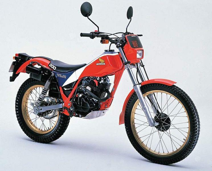Honda TLM200R (1986-87)
