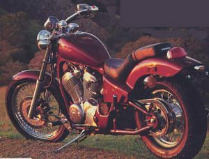 Honda VT600C Shadow (1991-93)