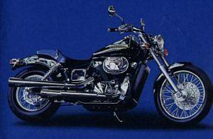 Honda VT750DC Black Shaeow (2002-03)