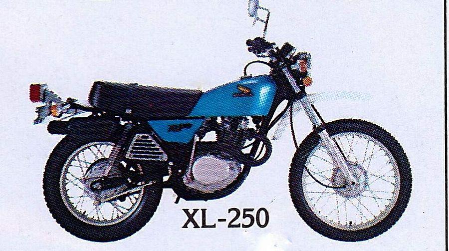 Honda XL250 (1976-78)