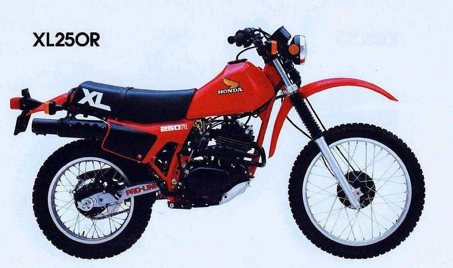 Honda XL250R (1982)