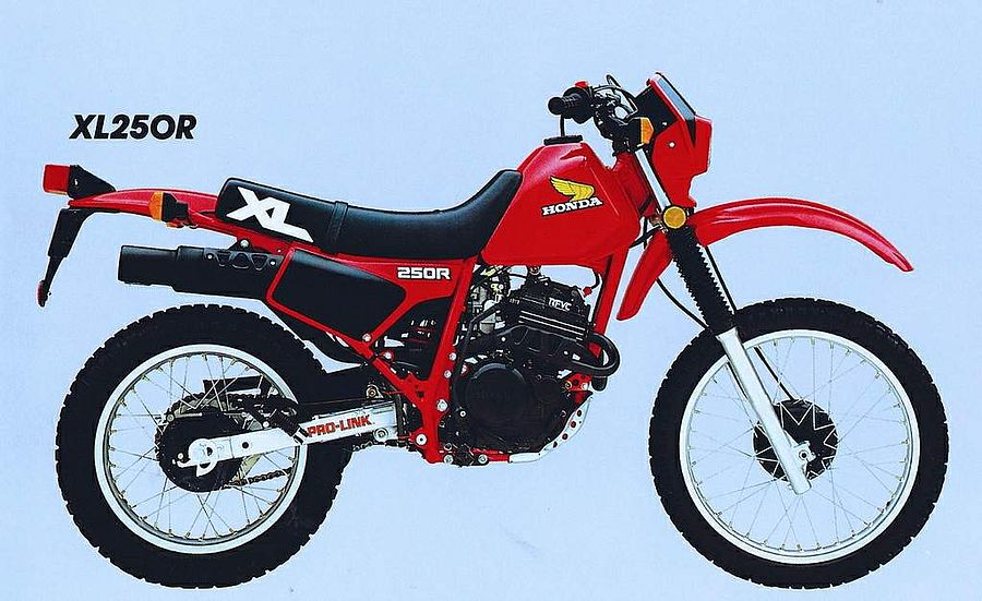 Honda XL250R (1984)