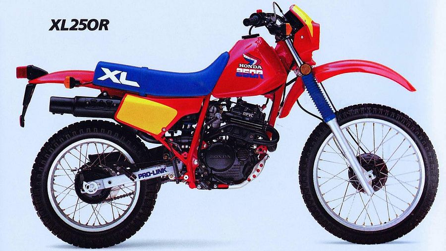 Honda XL250R (1985)