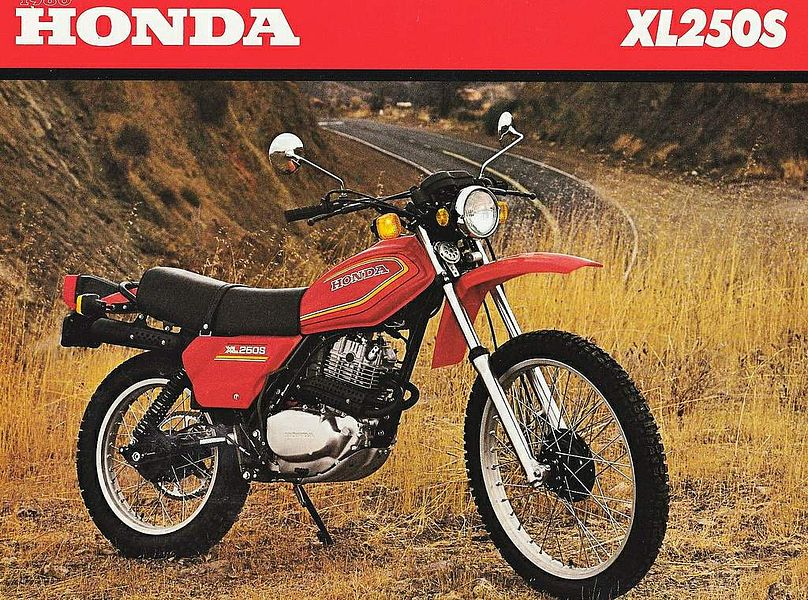 Honda XL250S (1978-79)
