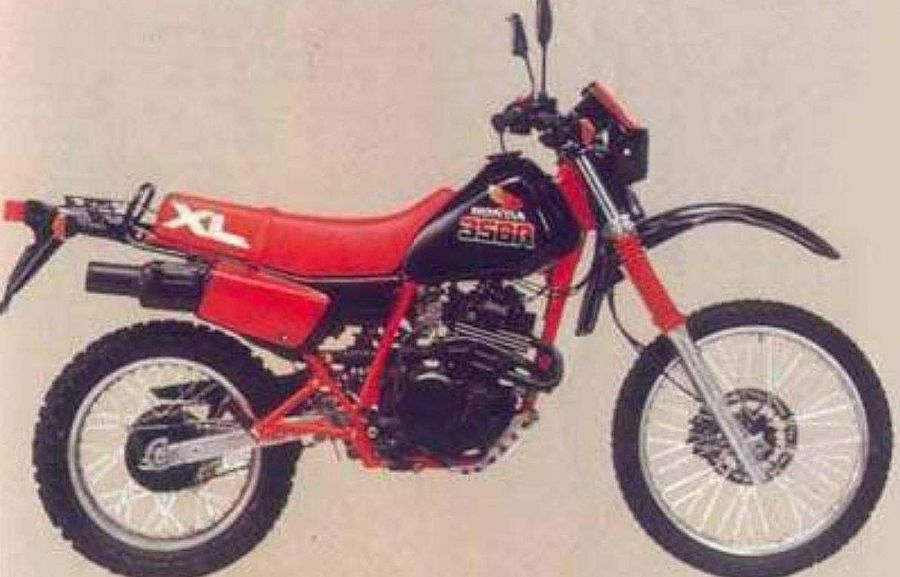 Honda XL350R (1986)
