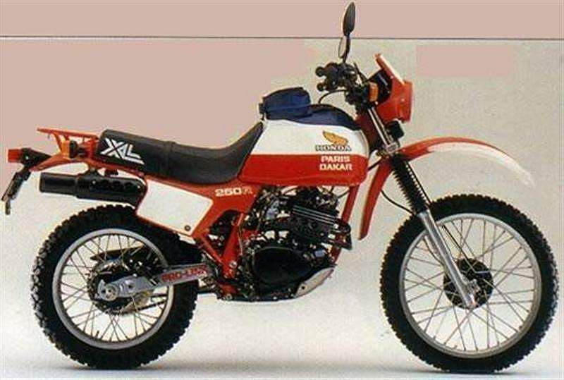 Honda XL250R Paris Dakar (1982)