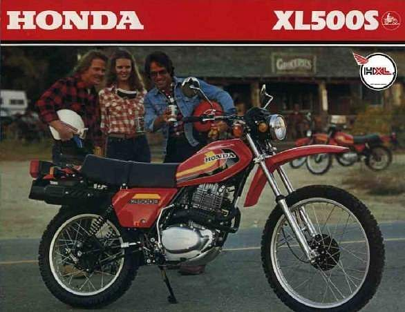 Honda XL500S (1979)
