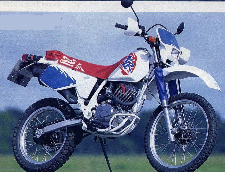 Honda XLR200R (1996)