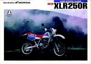Honda XLR250R (1991-92)