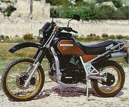 Honda XLV 750R (1985)