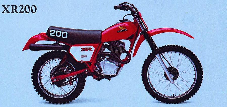 Honda XR200 (1982)