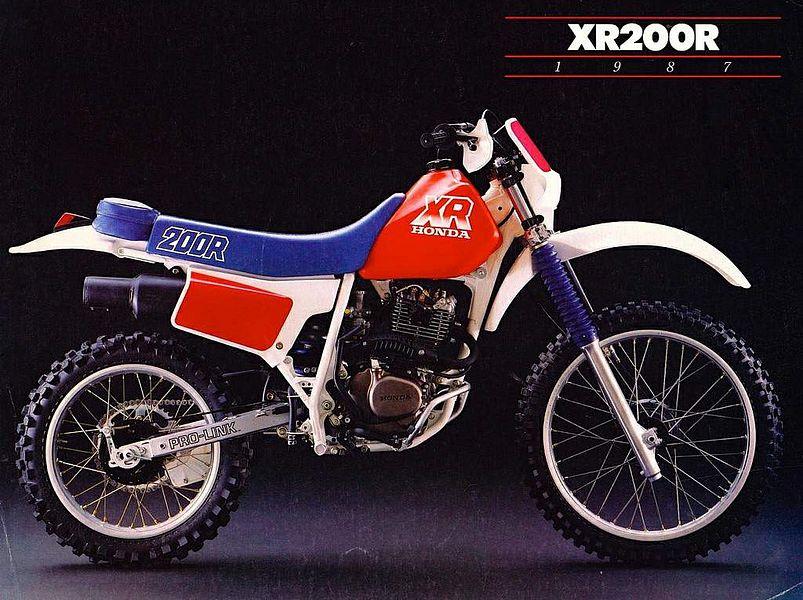 Honda XR200R (1987)