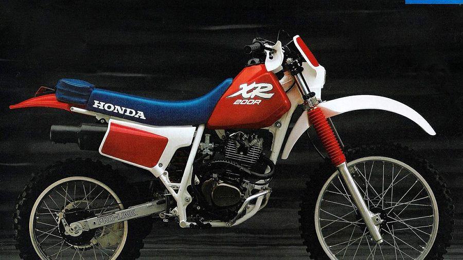 Honda XR200R (1989)