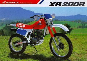 Honda XR200R (1990)