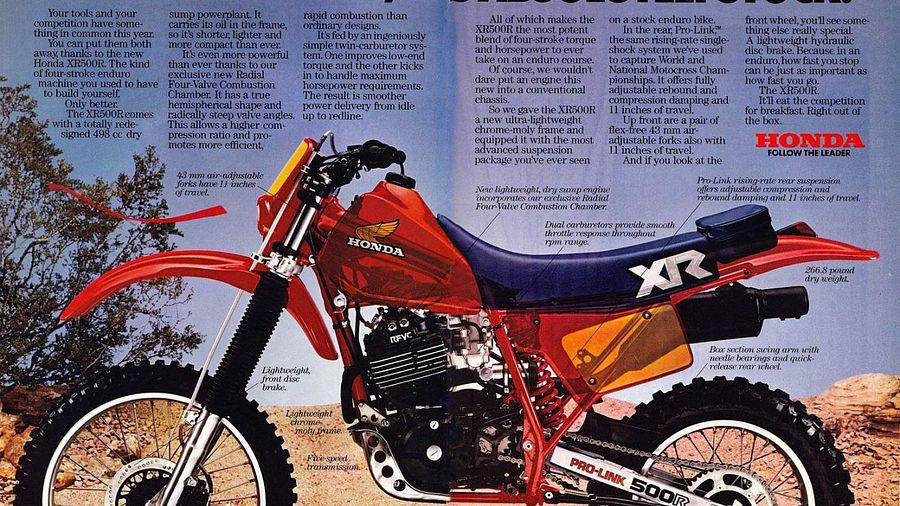 Honda XR500RE (1983)