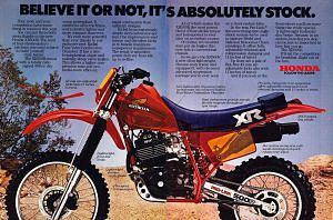 Honda XR500RE (1983)