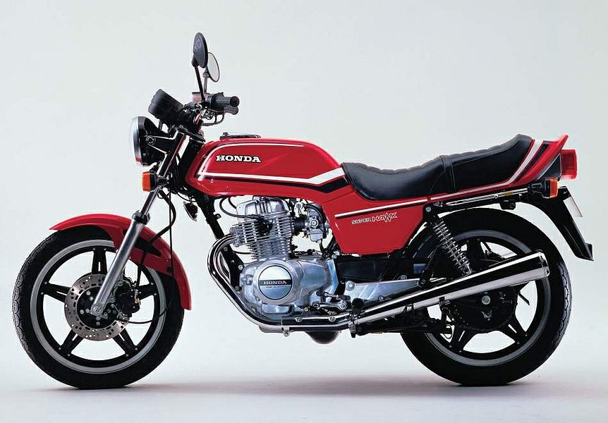 Honda CB250 Super Hawk (1980)