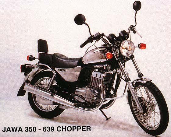 Jawa 350 Chopper (1997)
