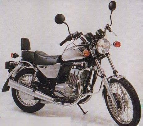 Jawa 640 Chopper (1994)