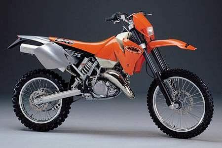 KTM 125 EXC Enduro (2001-02)