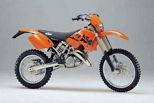 KTM 125 EXC Enduro (2003-04)