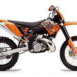 KTM 200 EXC Enduro (2007-08)