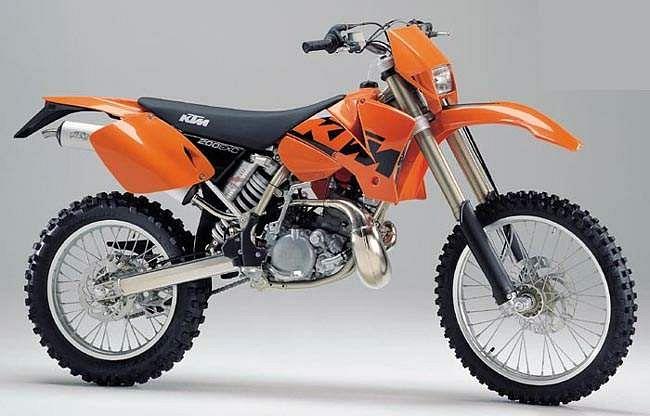 KTM 200 EXC (2003-04)