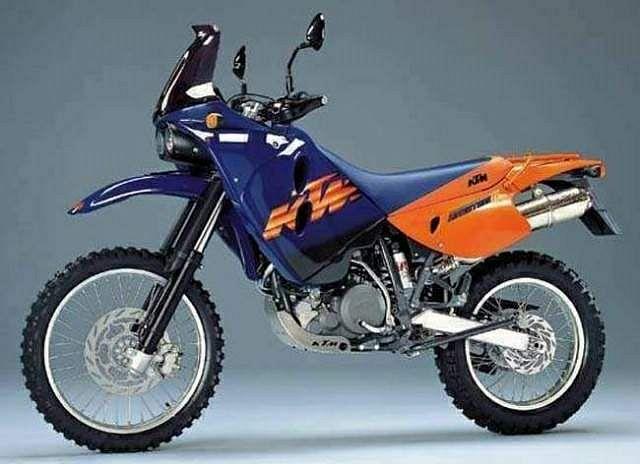 KTM 640 LC4 Adventure R (1999-00)