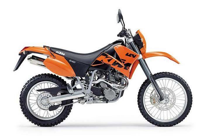 KTM 640 LC4 Enduro (2005-07)