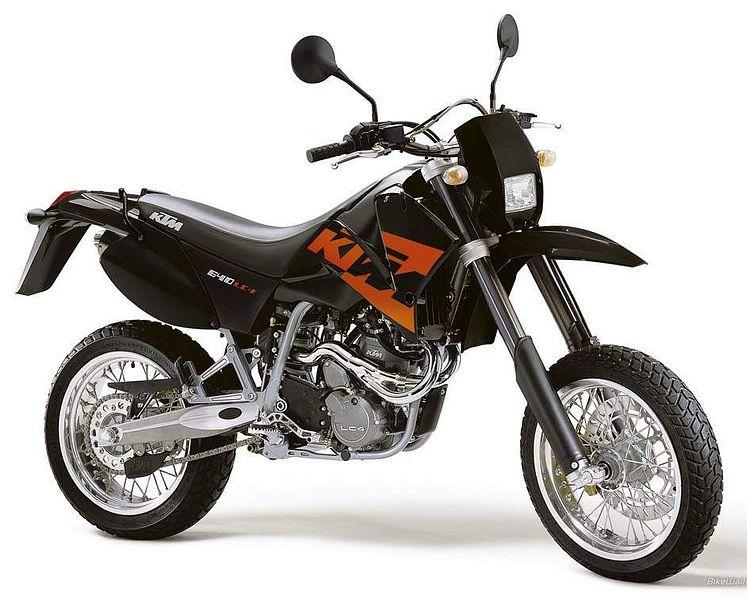 KTM 640 LC4 Supermoto (2005-07)