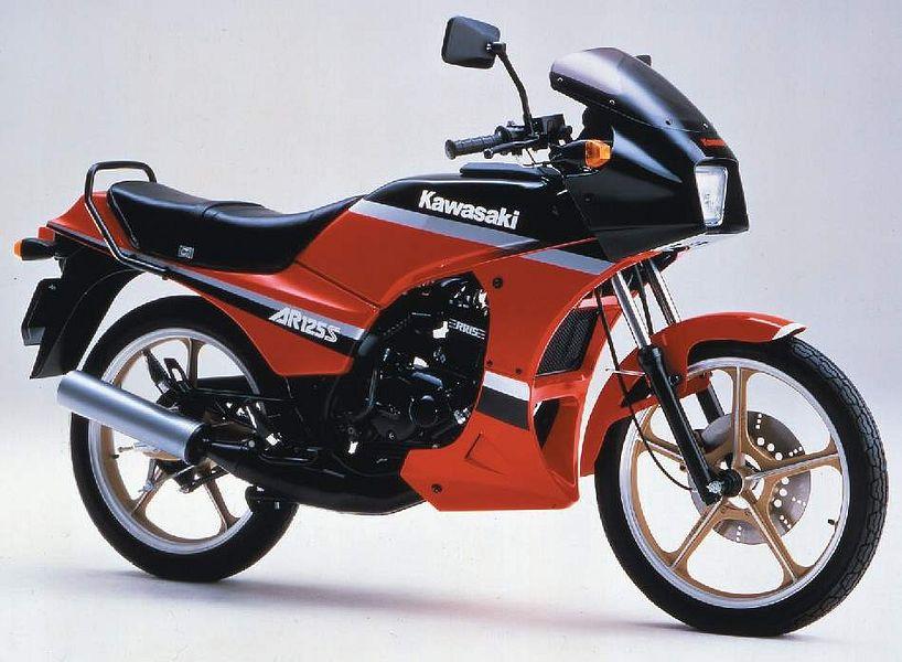 Kawasaki AR 125 86 - Legenda Motor Indonesia, Ini Deretan Motor yang Beken di Indonesia Tahun 80-an