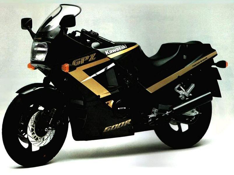 Kawasaki GPZ600R Ninja (1987-88)
