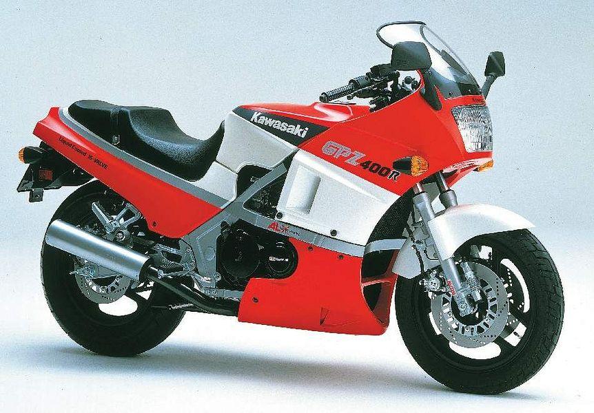 Kawasaki GPZ400R (1985)