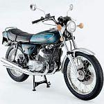 Kawasaki H1 500 Mach III (1974-75)