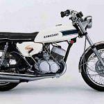 Kawasaki H1 500 Mach III (1970-71)