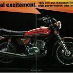 Kawasaki H1 500 Mach III (1972-73)