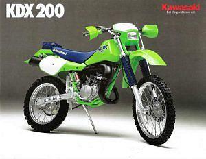 Kawasaki Kdx200 1995 98 Motorcyclespecifications Com