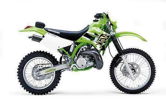 Kawasaki KDX200 (1999-01)