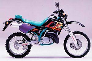Kawasaki KDX250R (1993-95)