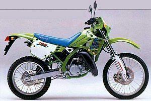 Kawasaki KDX 125SR (1997-98)