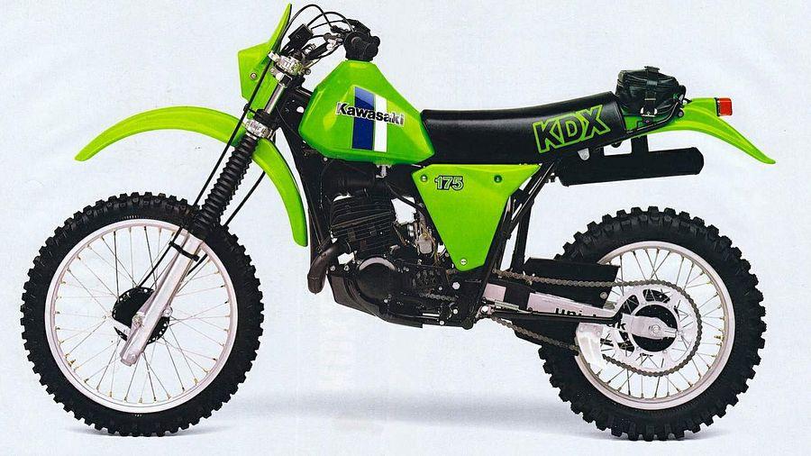 Kawasaki KDX175 (1980-82)