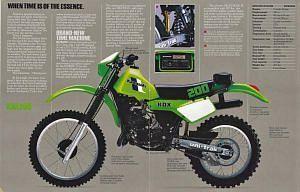 Kawasaki KDX200 (1983)