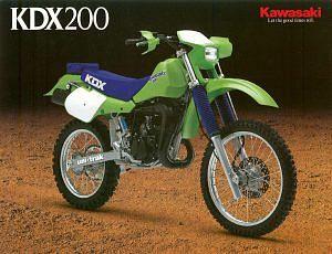 Kawasaki KDX200 (1986-88)