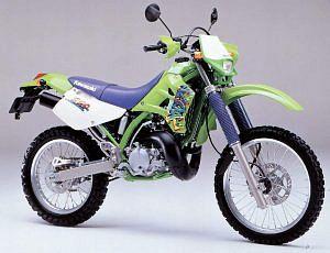 Kawasaki KDX220SR (1997-99)