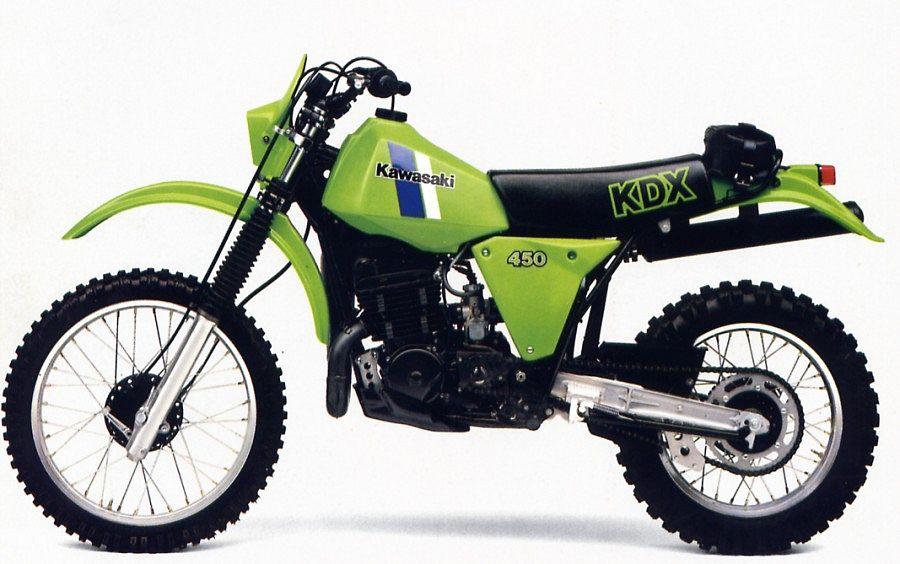 Kawasaki KDX450 (1980-82)
