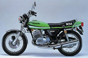Kawasaki KH 400 (1978-79)